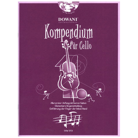 Kompendium für Cello - Band 1 (+CD)