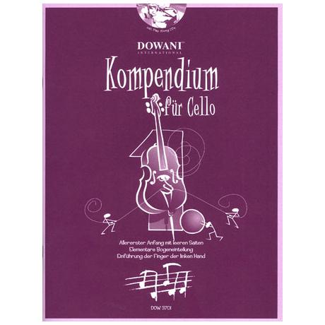 Kompendium für Cello - Band 1 (+CD)