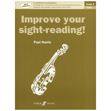 Harris: Improve your sight reading Grade 3