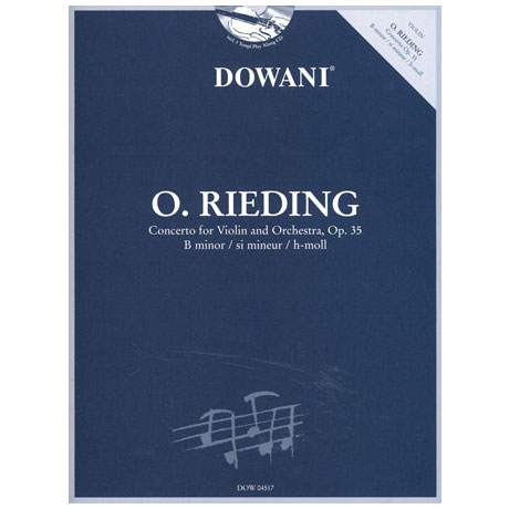 Rieding, O.: Konzert h-Moll op.35 (+CD)