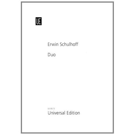 Schulhoff, E.: Duo