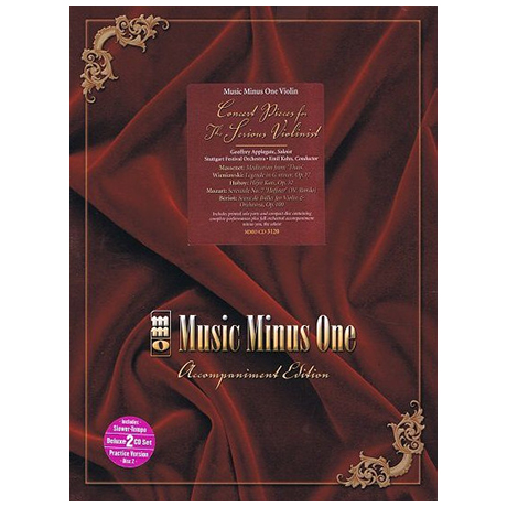 Concert Pieces for the Serious Violinist (+2CDs)