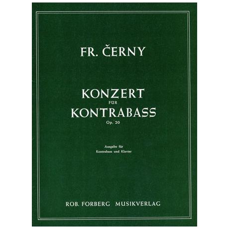 Cerný, F.: Kontrabasskonzert Op. 20