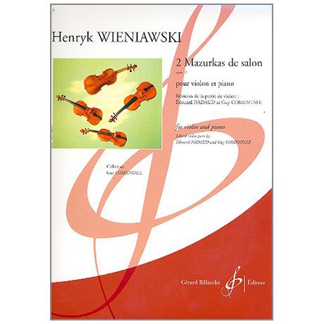 Wieniawski, H.: 2 Mazurkas de Salon Op. 12