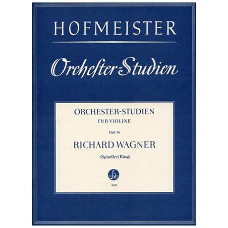 Ring, H./Spindler, F.: Orchesterstudien Heft 16: Wagner – Meistersinger