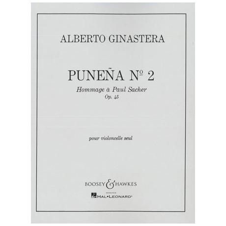 Ginastera, A.: Punena Nr.2 Op.45 - Hommage à Paul Sacher