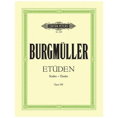 Burgmüller, Fr.: 18 Charakt. Etüden op. 109