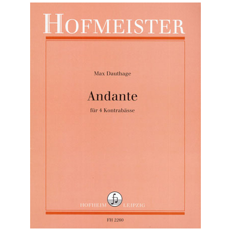 Dauthage, M.: Andante