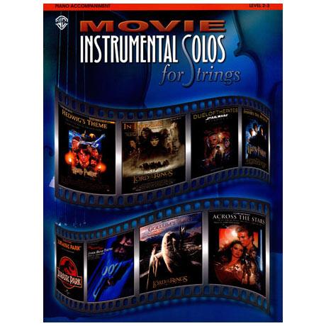 Movie Instrumental Solos – Klavierbegleitung