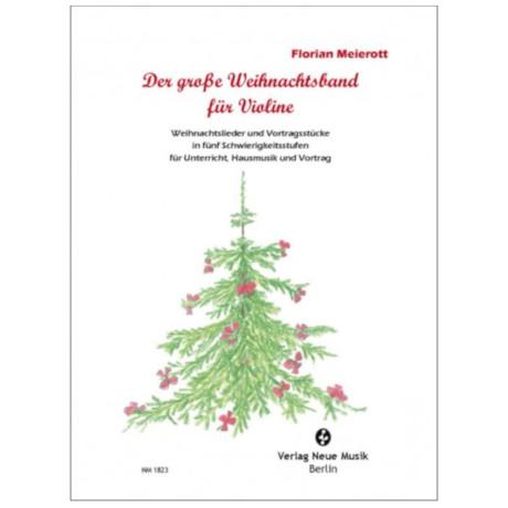 Meierott, F.: Der große Weihnachtsband für Violine – Schülerband