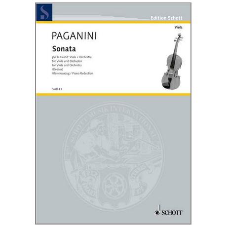 Paganini, N.: Sonata per la Grand'Viola e Orchestra