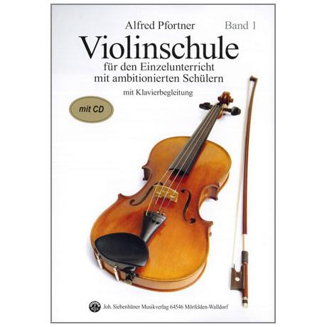 Pfortner, A.: Violinschule Band 1 (+CD)