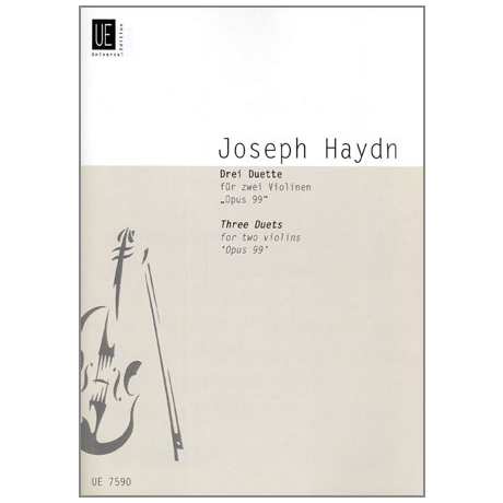 Haydn, J.: 3 Duette Op.99 Hob.III:40, 20, 23