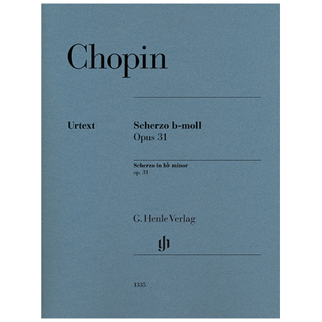 Chopin, F.: Scherzo Nr. 2 Op. 31 b-Moll