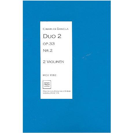 Dancla, C.: Duo Op.33 Nr.2