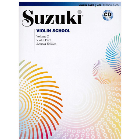 Suzuki Violin School Vol. 2 (+CD)