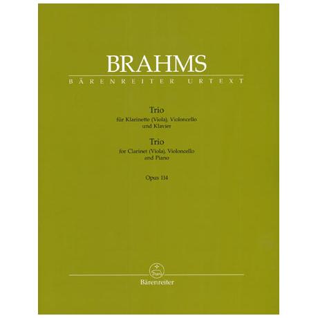 Brahms: Trio Op.114