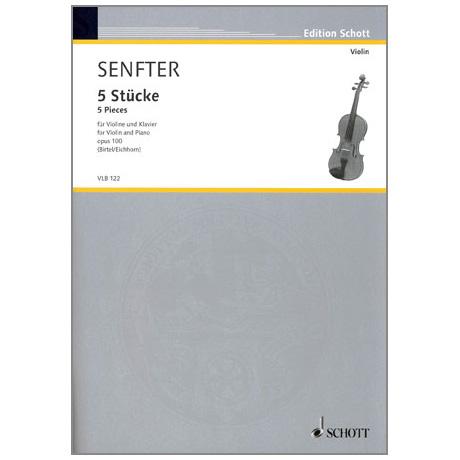 Senfter, J.: 5 Stücke Op. 100
