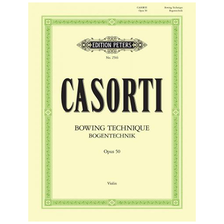 Casorti, A.: Bogentechnik