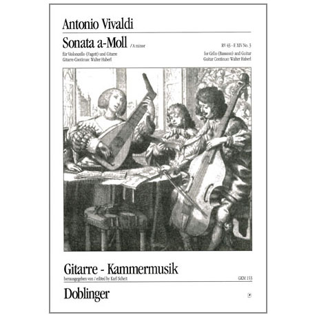 Vivaldi, A.: Sonate Nr. 3 a-Moll
