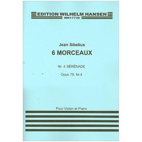 Sibelius, J.: Aus »6 Morceaux« Nr. 4 Sérénade Op. 79/4 (1916)