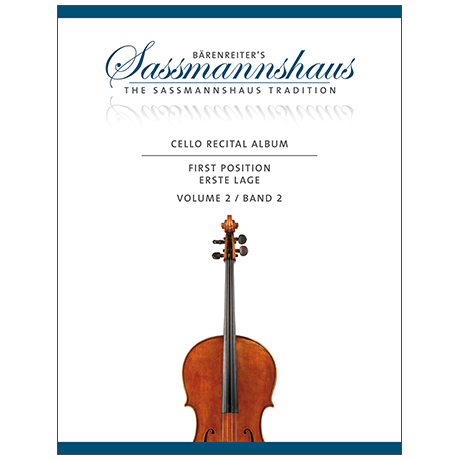 Sassmannshaus, Chr.: Cello Recital Album Band 2