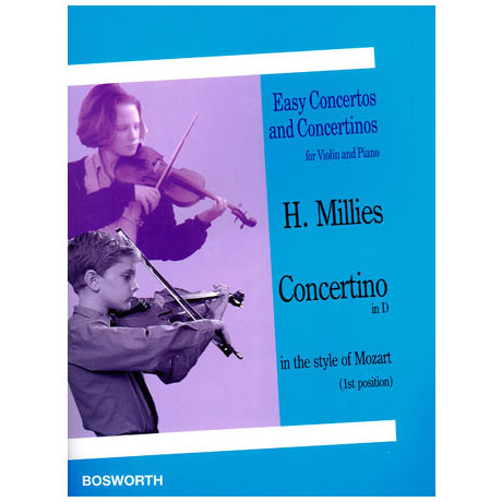 Millies, H.: Concertino in D in the style of Mozart
