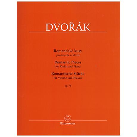 Dvořák, A.: Romantische Stücke Op.75