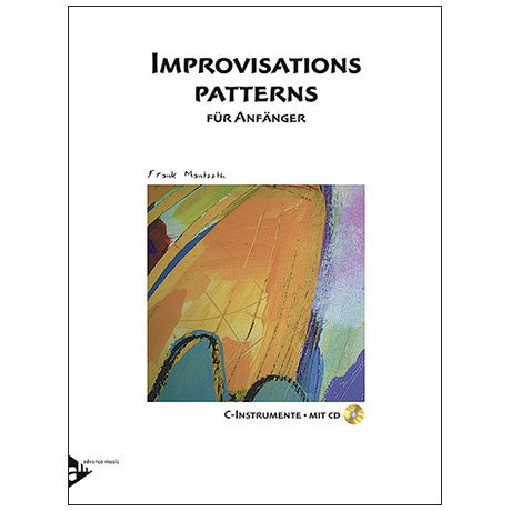 Mantooth, F.: Improvisations Patterns (+CD)