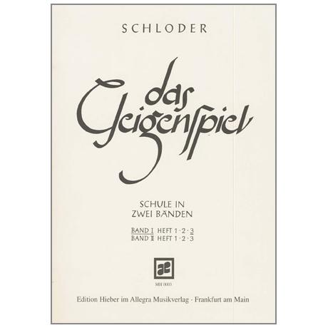 Schloder: das Geigenspiel Band 1 Heft 3