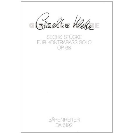 Klebe, G.: 6 Stücke Op. 68