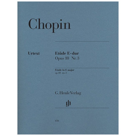 Chopin, F.: Etüde E-Dur Op. 10,3
