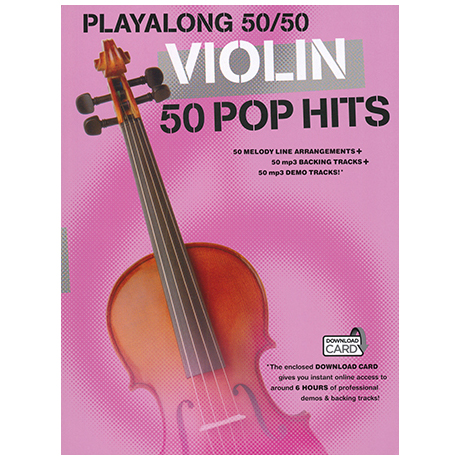 Playalong 50/50: Violin - 50 Pop Hits