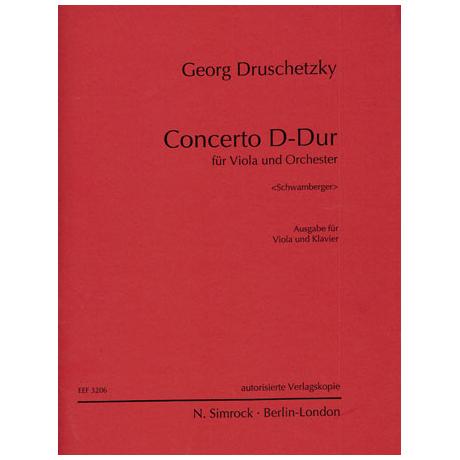 Druschetzky, G.: Concerto D-Dur