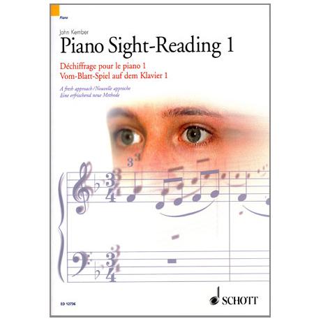 Vom-Blatt-Spiel auf dem Klavier 1