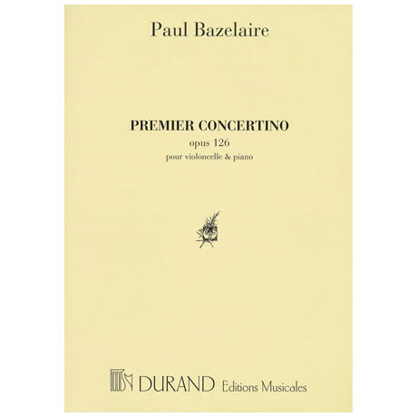 Bazelaire, P.: Concertini Nr. 1 Op. 126