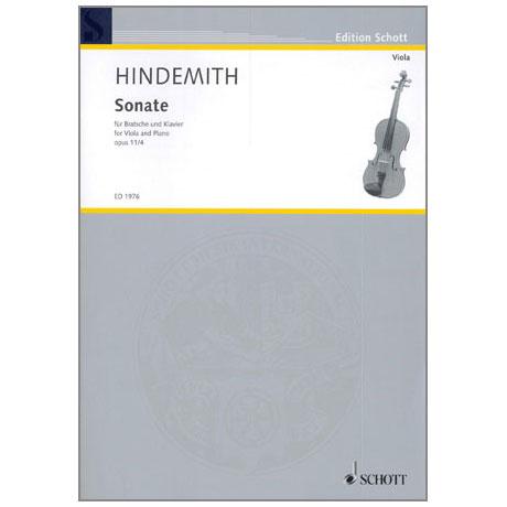 Hindemith, P.: Violasonate Op. 11/4 F-Dur