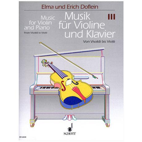 Musik für Violine und Klavier - Band 3