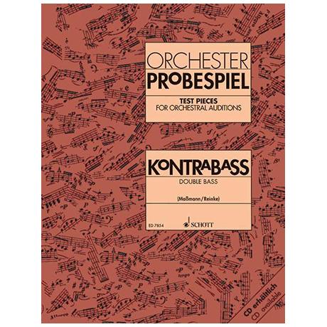 Reinke, G.: Maßmann, F.: Orchester-Probespiel Kontrabass