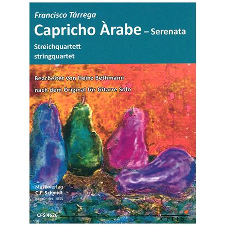 Tárrega, F.: Capricho Àrabe – Serenata