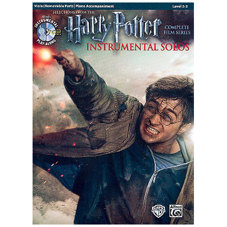 Harry Potter Instrumental Solos for Viola (+MP3-CD)