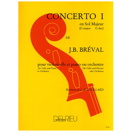 Bréval, J. B.: Concerto Nr. 1 G-Dur
