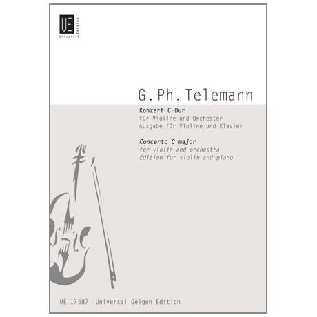 Telemann, G. Ph.: Violinkonzert C-Dur