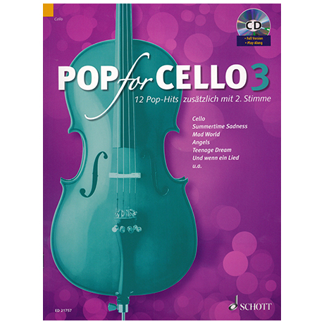 Pop for Cello 3 (+CD)