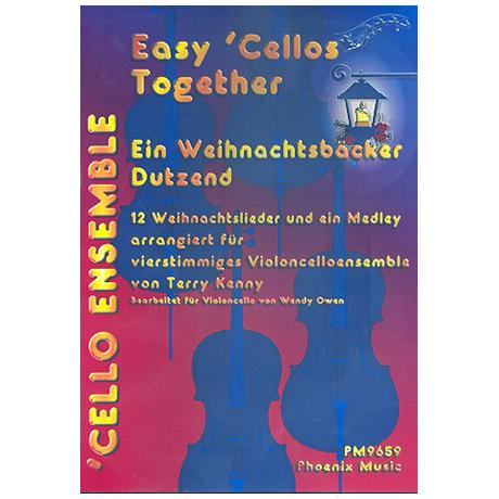 Easy Cellos Together: Ein Weihnachtsbäcker Dutzend