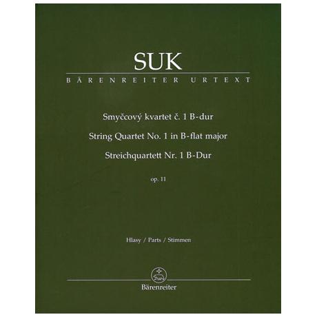 Suk, J.: Streichquartett Nr. 1 B-Dur Op.11