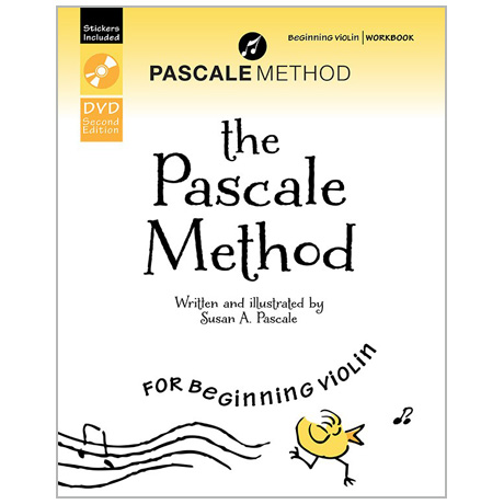 Pascale, S.: The Pascale Method for beginning Violin Vol.1 (+DVD)