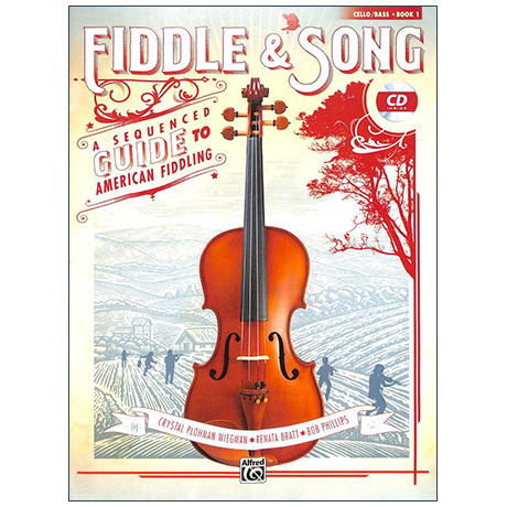 Fiddle & Song for Cello/Bass Book 1 (+CD)