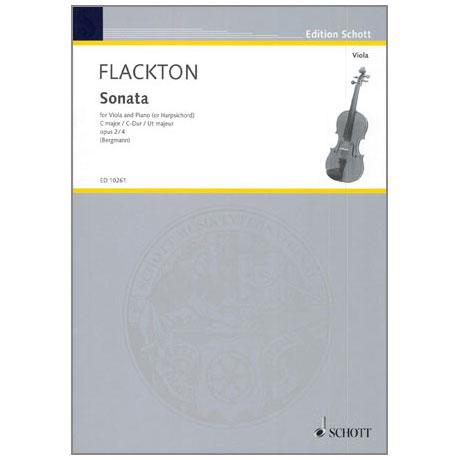 Flackton, W.: Violasonate Op. 2/4 C-Dur