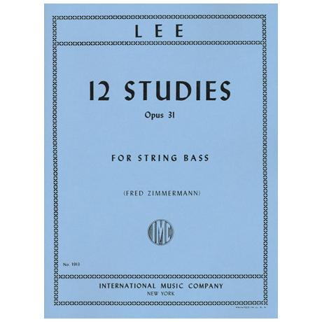 Lee, Sebastian: 12 Etüden Op. 31